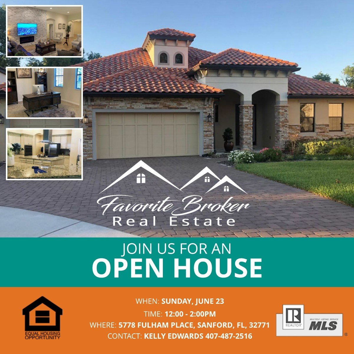 Open House Sanford FL Sunday June 23, 2019