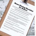 Home Closing Checklist for Sellers